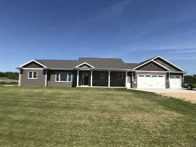 Shawano County Single Family Home Active-No Offer: N5685 Wolf River
