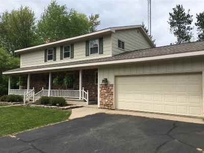 Marinette Single Family Home Active-No Offer: W924 Rader