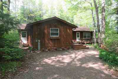 Townsend Single Family Home Active-No Offer: W910 Mary Lake