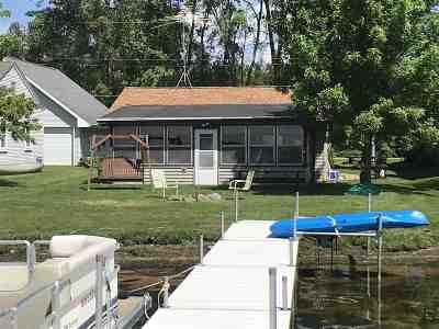 Shawano County Single Family Home Active-Offer No Bump: N6292 Cattau Beach