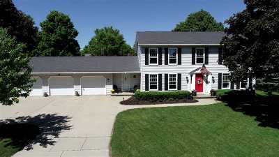 Neenah Single Family Home Active-No Offer: 1207 Skyview