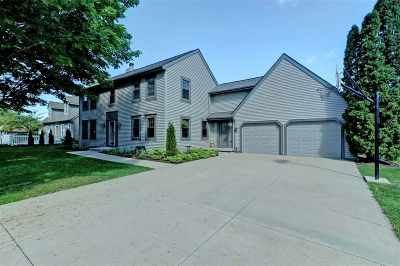 Neenah Single Family Home Active-No Offer: 724 Millbrook