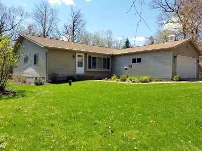 Waupaca Single Family Home Active-No Offer: N3111 W Silver Lake