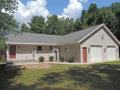 Oconto County Single Family Home Active-No Offer: 9426 Lee Lake