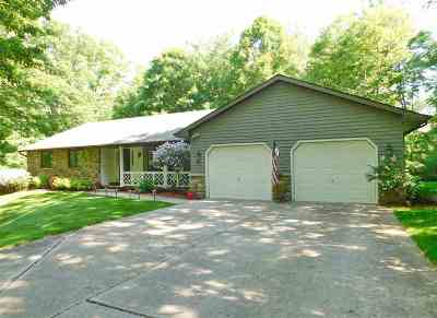 Green Bay Single Family Home Active-No Offer: 1740 Berkshire