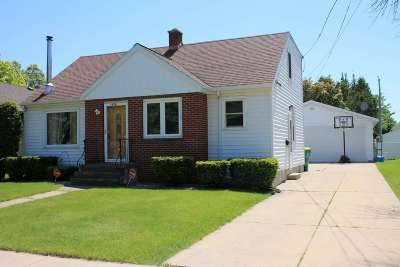 Green Bay Single Family Home Active-Offer No Bump: 1658 Crooks