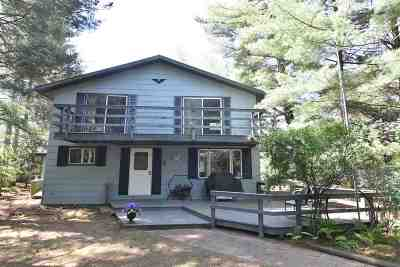 Single Family Home Active-No Offer: N9246 Sandy Lake