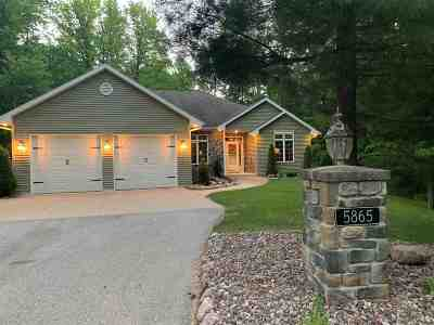 Oconto County Single Family Home Active-No Offer: 5865 Timber Haven