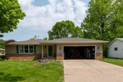 Appleton Single Family Home Active-No Offer: 1008 E Mitchell