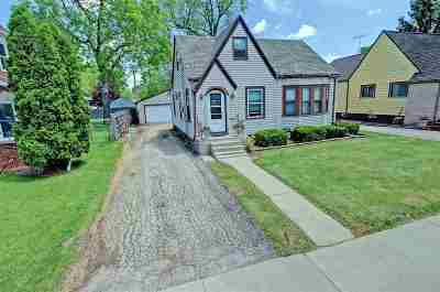 Neenah Single Family Home Active-No Offer: 814 S Commercial