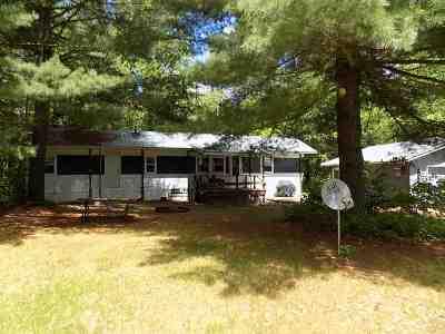 Crivitz Single Family Home Active-No Offer: 11684 Eagle Bluff