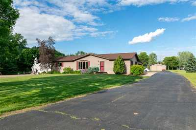 Appleton Single Family Home Active-No Offer: N154 Hwy N