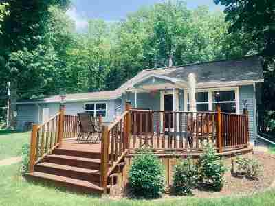 Suring Single Family Home Active-Offer No Bump: 9789 White Lake