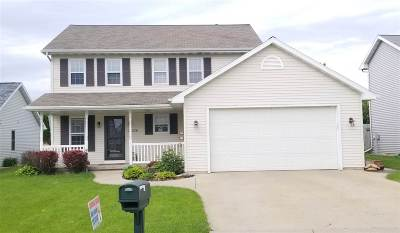 Neenah Single Family Home Active-No Offer: 2518 Bruce