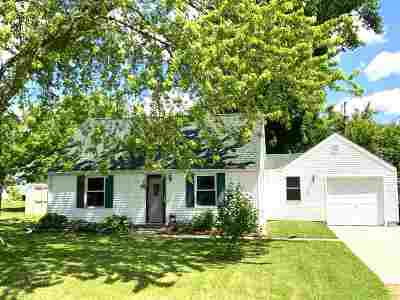 Menasha Single Family Home Active-Offer No Bump: 1061 Claude