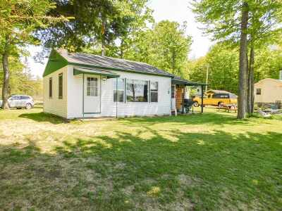 Single Family Home Active-No Offer: 10889 Halsey Lake