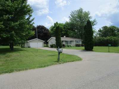 Waupaca Single Family Home Active-No Offer: N2448 Mary