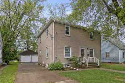 Appleton Single Family Home Active-No Offer: 1019 W Hawes