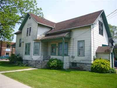 Oshkosh Single Family Home Active-No Offer: 1403 S Main