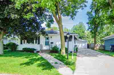 Neenah Single Family Home Active-No Offer: 862 Maple