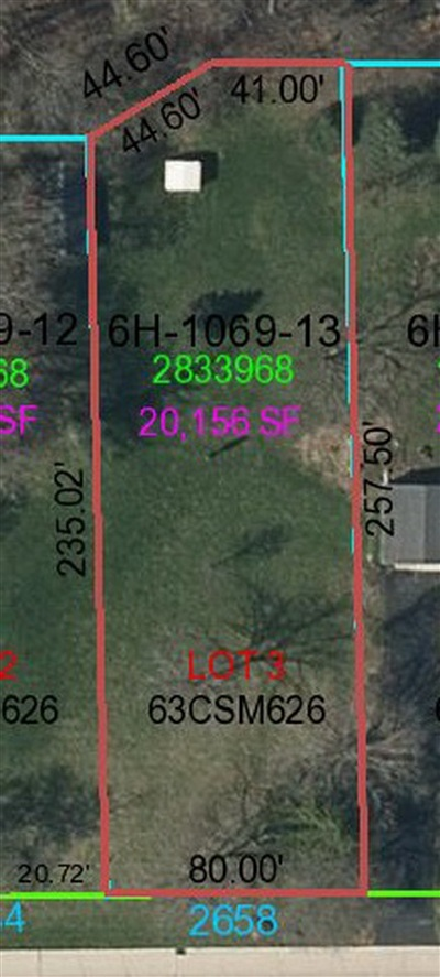 Green Bay Residential Lots & Land Active-No Offer: 2658 Indian Hill