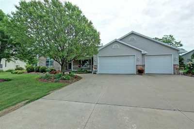 Appleton Single Family Home Active-No Offer: N9536 Chadbury
