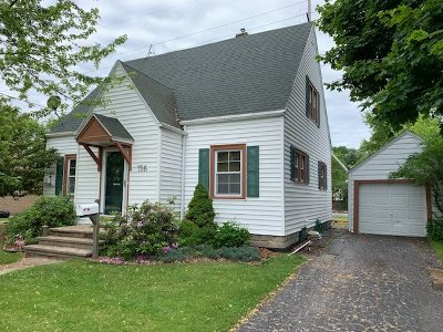 Menasha Single Family Home Active-No Offer: 716 Milwaukee