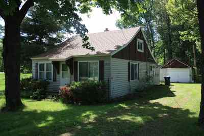 Shawano Single Family Home Active-No Offer: N5801 Edgewood