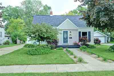 Menasha Single Family Home Active-Offer No Bump: 713 Appleton
