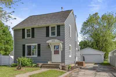 Appleton Single Family Home Active-No Offer: 1315 George