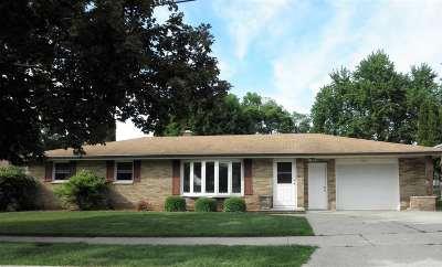 Green Bay Single Family Home Active-Offer No Bump: 2061 Hillside