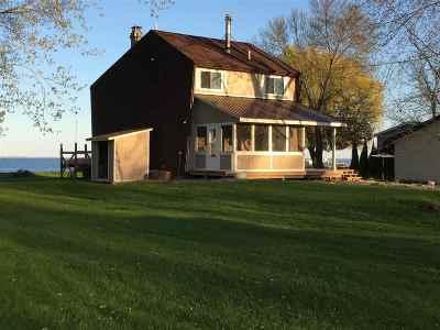 Oconto County Single Family Home Active-No Offer: 2830 Kunzer Beach