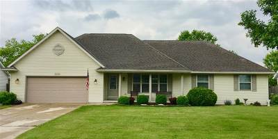Green Bay Single Family Home Active-No Offer: 545 Fair Winds