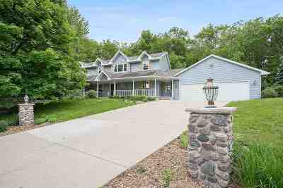 Green Bay Single Family Home Active-No Offer: 1004 Mt Blanc