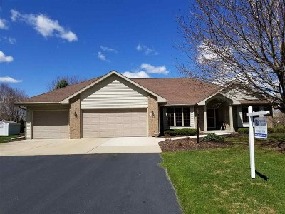Green Bay Single Family Home Active-No Offer: 1600 Ravine
