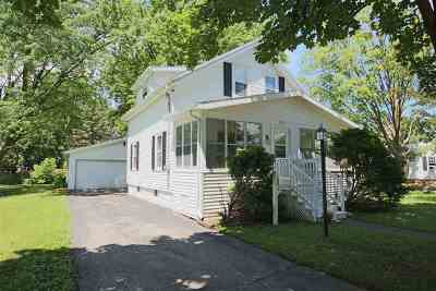 Oshkosh Single Family Home Active-Offer No Bump: 1833 Hubbard