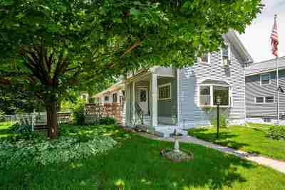 Oshkosh Single Family Home Active-No Offer: 1733 Iowa