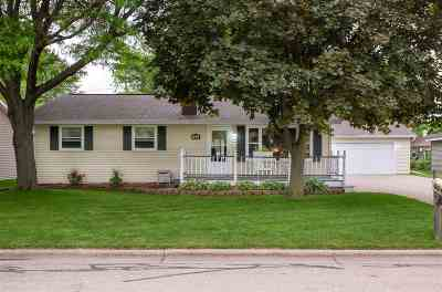 Menasha Single Family Home Active-No Offer: 1012 Fieldcrest