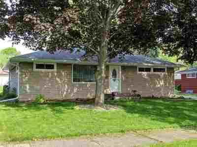 Appleton Single Family Home Active-No Offer: 1630 N Gillett