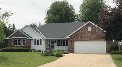Green Bay Single Family Home Active-No Offer: 2834 E Pennwood
