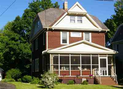Oshkosh Single Family Home Active-No Offer: 1237 Jackson