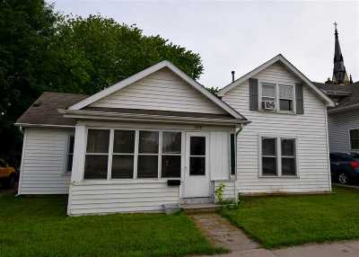 Menasha Single Family Home Active-No Offer: 609 3rd