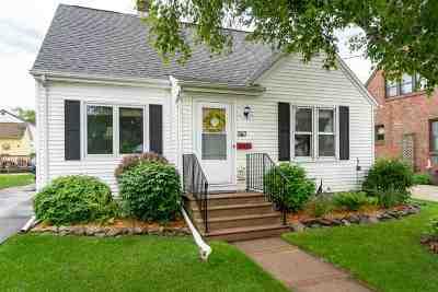Menasha Single Family Home Active-No Offer: 543 6th