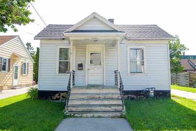 Neenah Single Family Home Active-Offer No Bump: 309 3rd