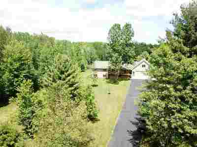 Oconto County Single Family Home Active-No Offer: 6812 County Road S