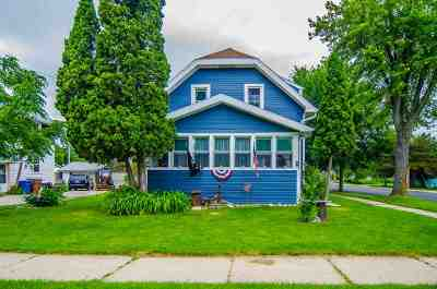 Menasha Single Family Home Active-No Offer: 894 3rd