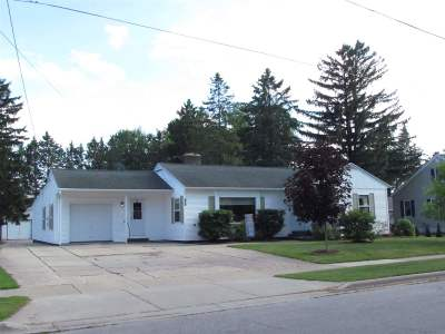Pulaski Single Family Home Active-No Offer: 128 E Cedar