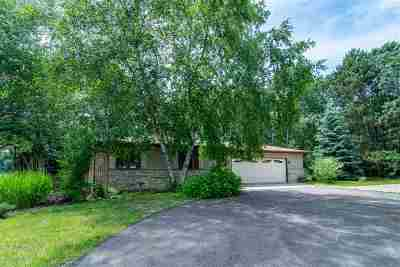 Waupaca Single Family Home Active-No Offer: N3255 Silver Lake