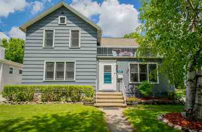 Appleton Single Family Home Active-No Offer: 820 W 4th