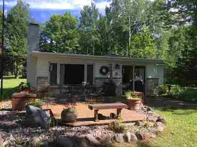 Oconto County Single Family Home Active-No Offer: 17439 McCaslin